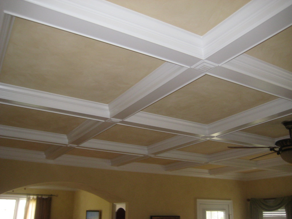 Coffered Ceiling How To Picture Of A Coffered Ceiling