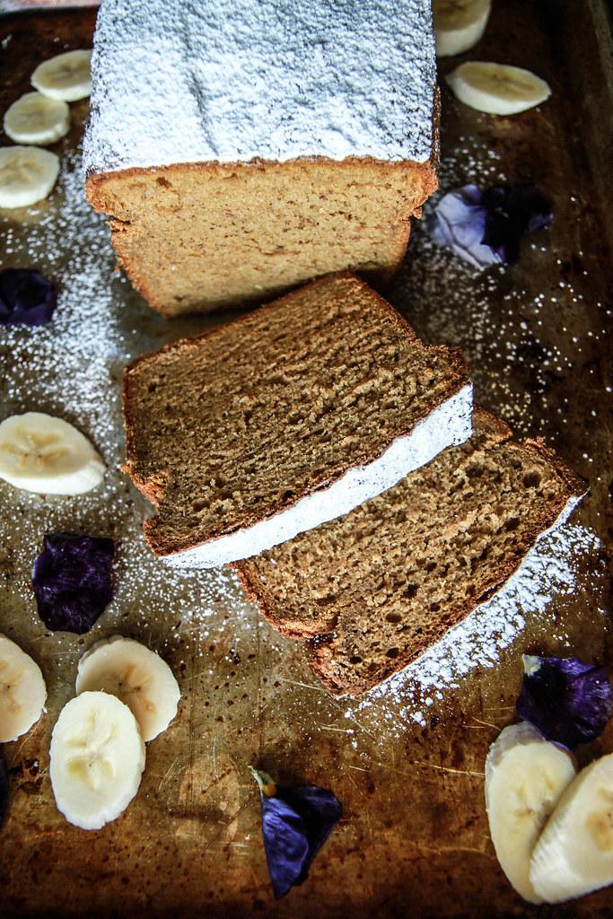 Sweet Potato Banana Bread- Gluten Free and Vegan from HeatherChristo.com