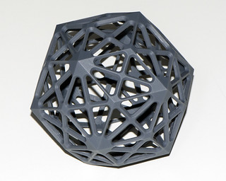 Rhombic triacontahedron small | by Chris Garrity