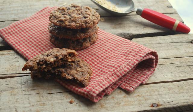 Double Choc Oatmeal Cookies BLOG