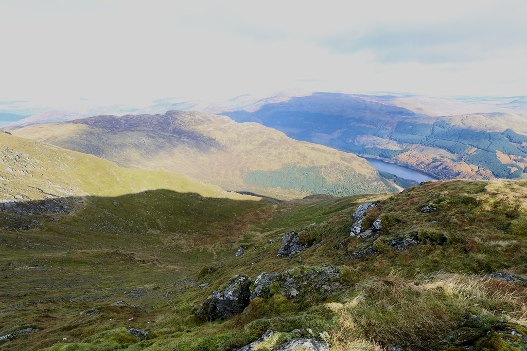 Stank Glen from Ben Ledi