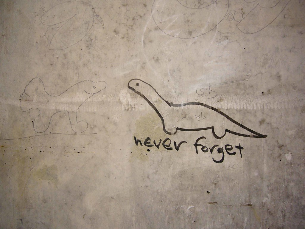 Image result for dinosaur never forget