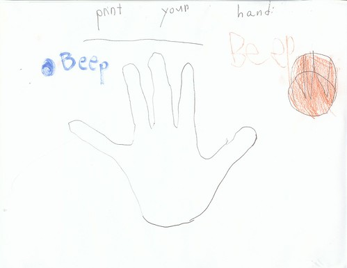 print your hand | by ganley