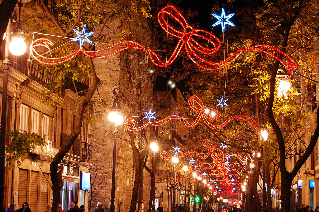 Christmas Decorations In Valencia, Spain 11/12/2007 | Flickr