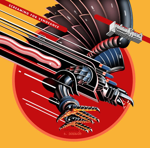 Screaming For Vengeance This Is Judas Priest Album Cover