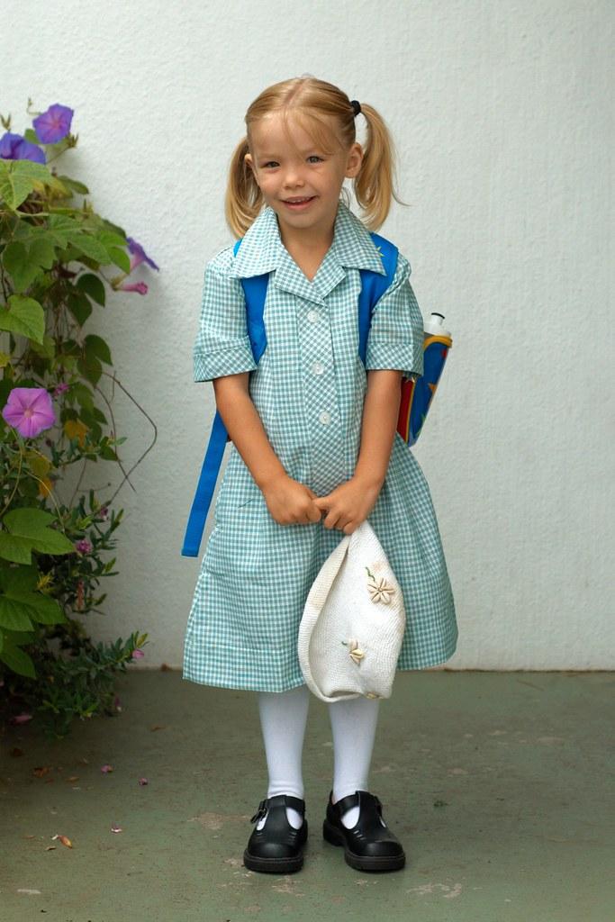 White School Uniform Shoes