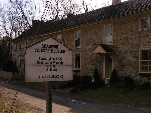 Marshallton, PA: Bradford Friends Meetinghouse
