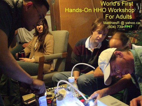 WORLD'S FIRST PUBLIC HANDS-ON HHO WORKSHOP  JPG - MAY 08 | by Battery-Revivalist