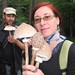 Simona and Leigh with mushrooms
