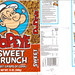 1991 Stokely-Van Camp Popeye Sweet Crunch Cereal Bag