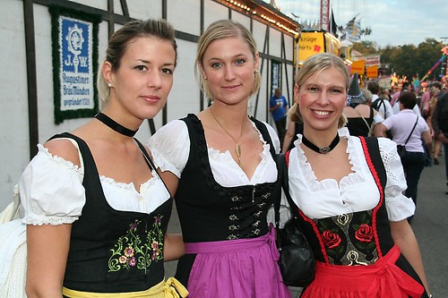 Dirndl Babes, Part 4 | by kosmonautica