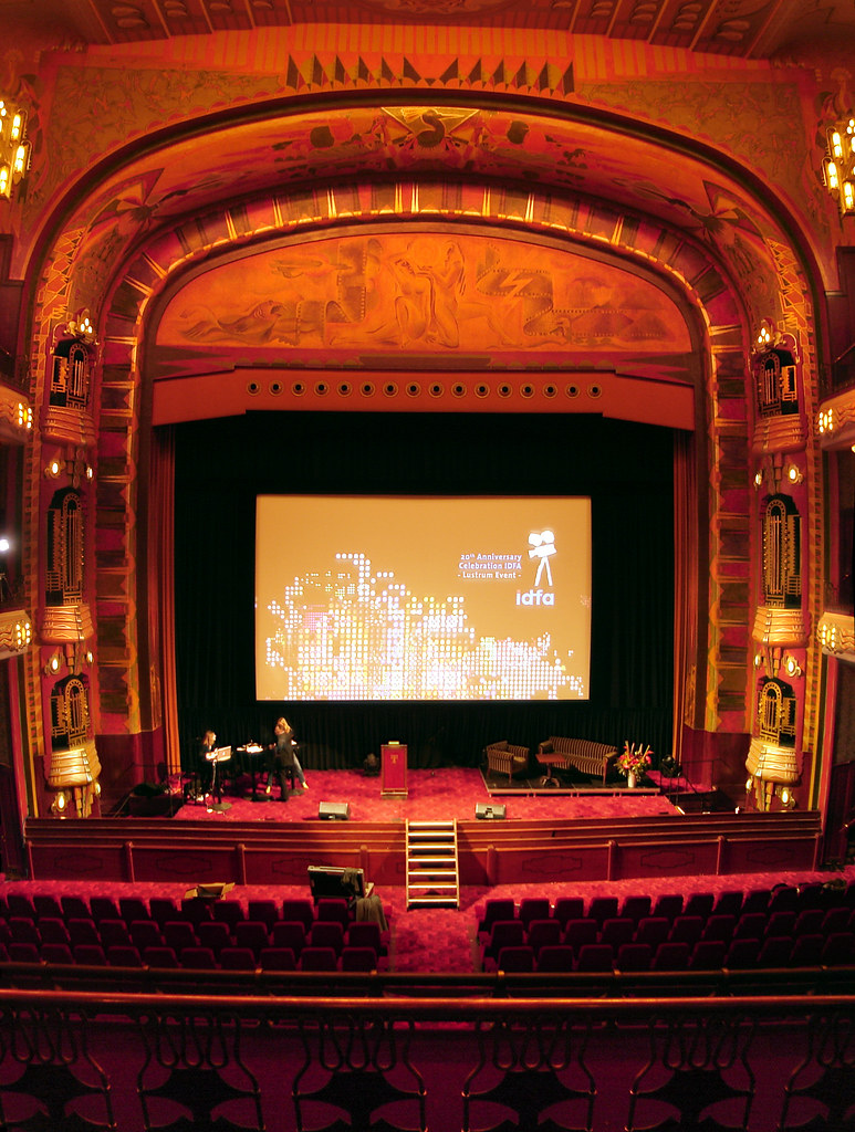 Tuschinski Theater, Amsterdam - Proscenium Arch | As taken ...