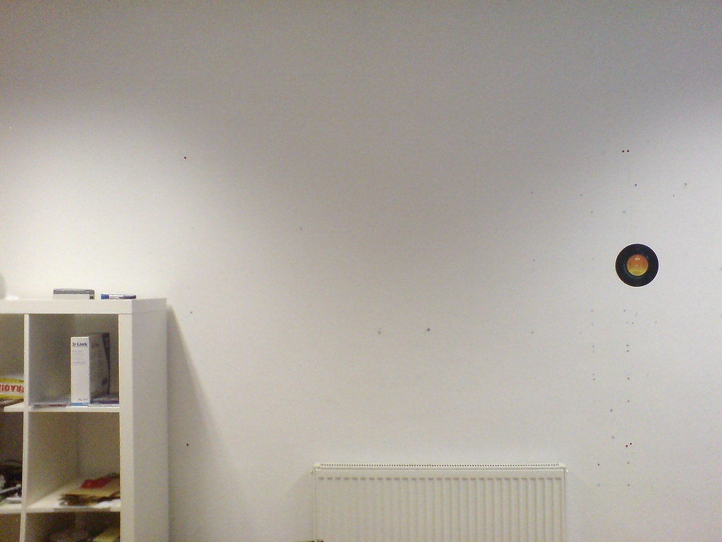 Blank wall we recently moved office and the music team for What to do with a blank wall