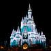 Cinderella's Castle with Icicles - Walt Disney World