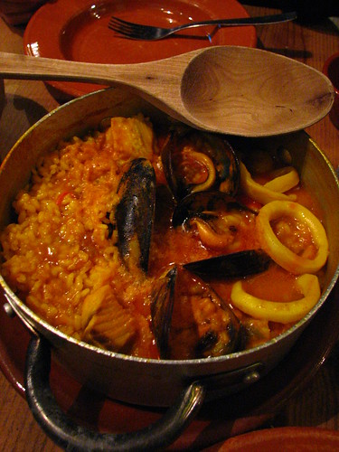 Arroz Marineiro, at Taberna Maceira, Madrid | by SeppySills