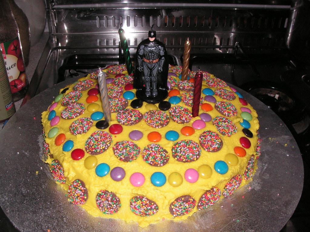 Batman Birthday Cake Designs