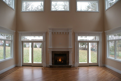 2 Story Doors : Ravine manor story family room with gas fireplace har