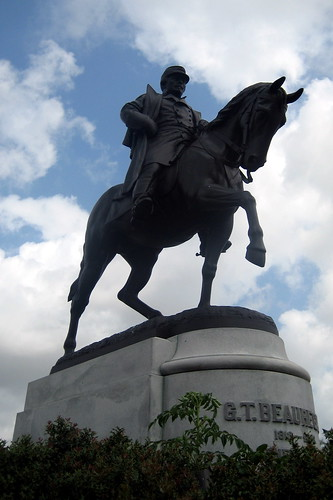 New Orleans - City Park: General Beauregard Equestrian Statue | by wallyg