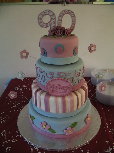 90th birthday cake grandma 39 s 90th birthday cake julie for 90th birthday cake decoration ideas