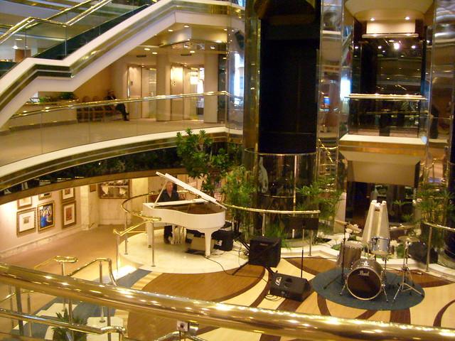Cruise Ships Lobby Interior Architecture Interior
