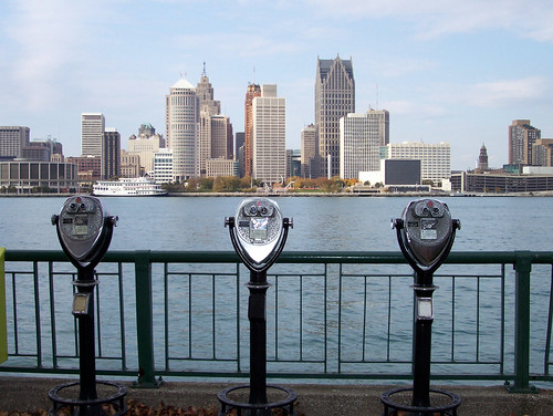 Detroit Skyline | by Wigwam Jones