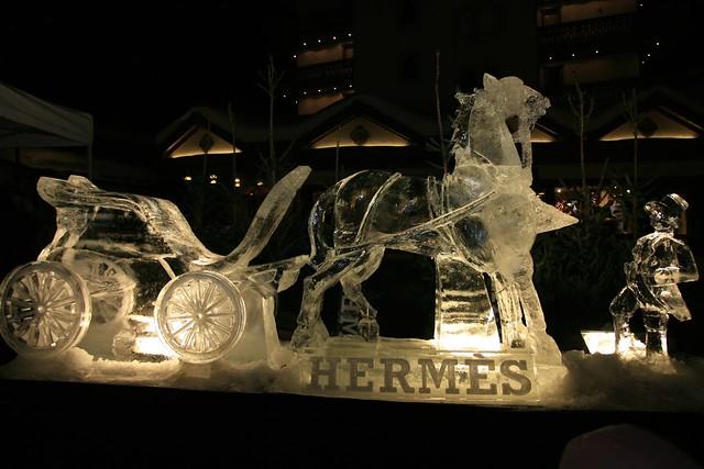 21c954e92f1 ... SixièmeDimension Inauguration boutique Hermès Crans-Montana (5)