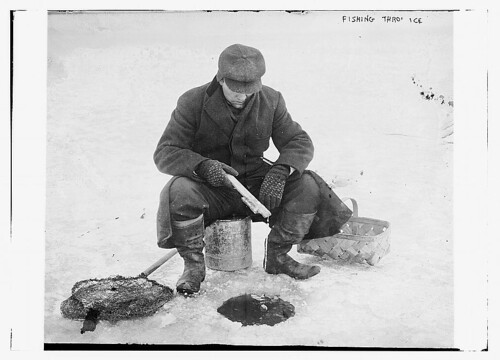 Fishing thru ice  (LOC) | by The Library of Congress