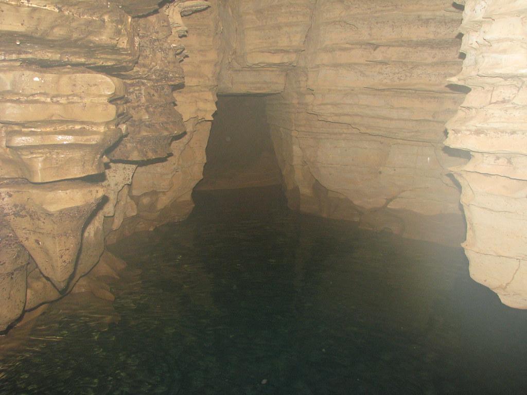 Bottom of a deep well