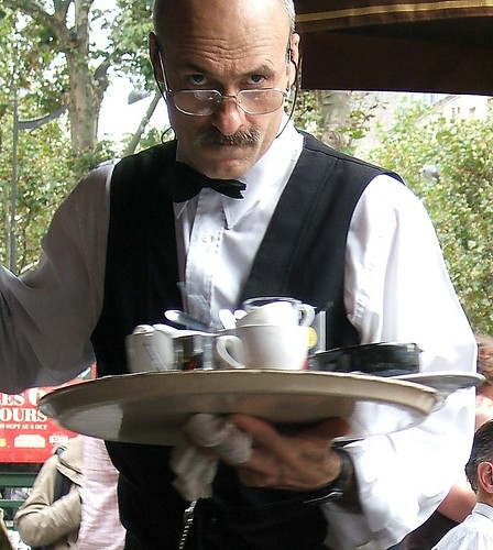 My Favorite Parisian Waiter | by MyTangerineDreams