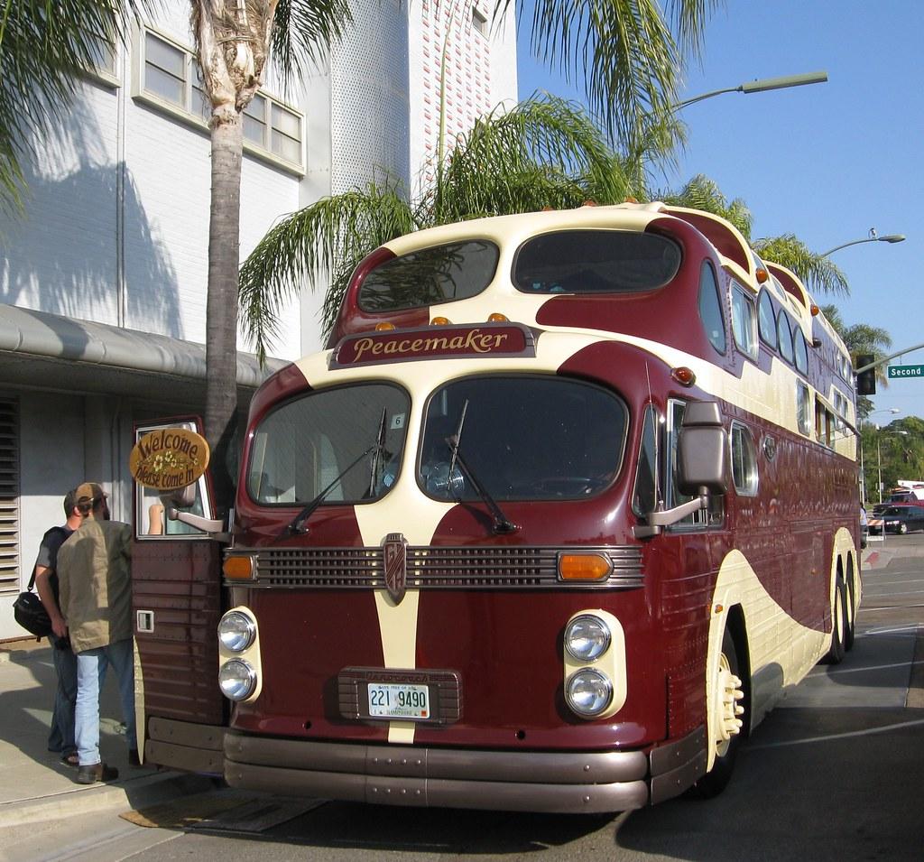 general american aerocoach custom three level bus