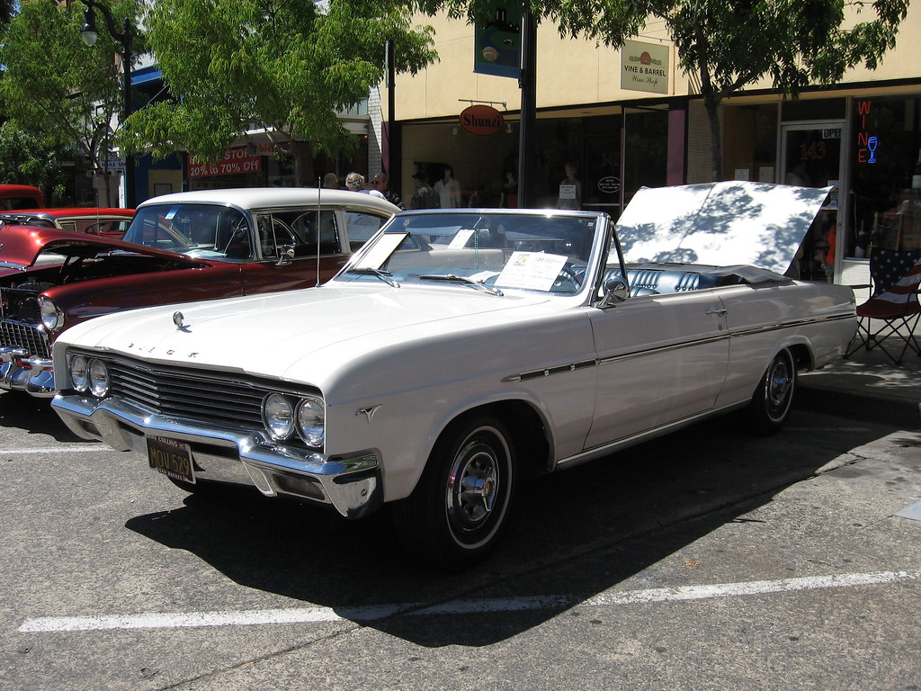1965 buick special skylark convertible petaluma s salute t flickr. Black Bedroom Furniture Sets. Home Design Ideas