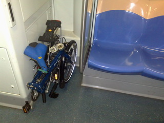 Folding bikes on MRT and buses trial begins | by mr brown