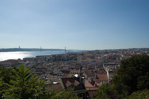 View from castelo | by andruby