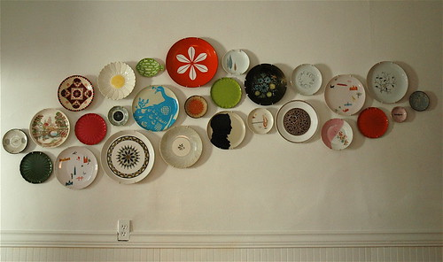 plate wall | by Bird in the Hand