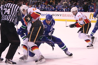 Vancouver Canucks vs Calgary Flames | by iwona_kellie