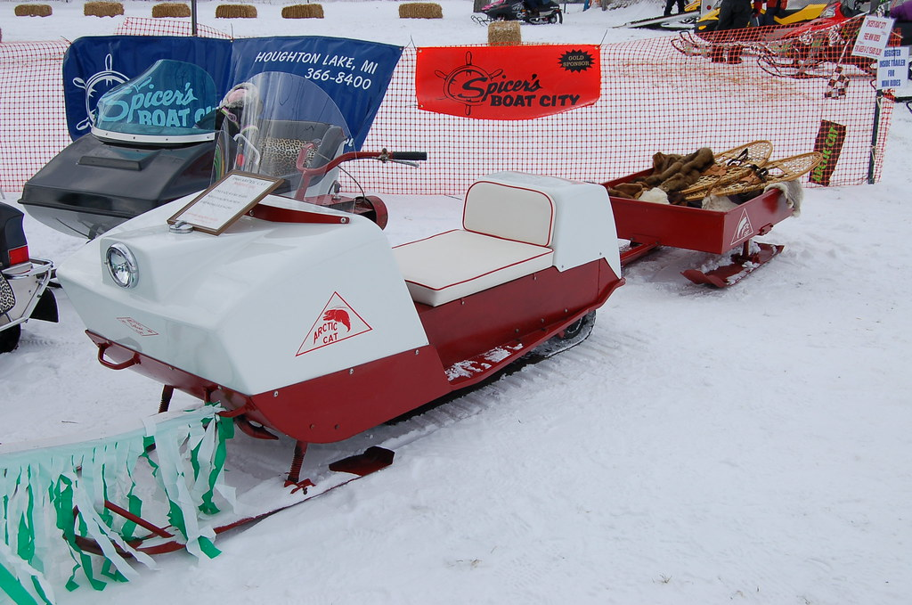 Arctic Cat Snowmobile >> Antique Snowmobiles | Flickr