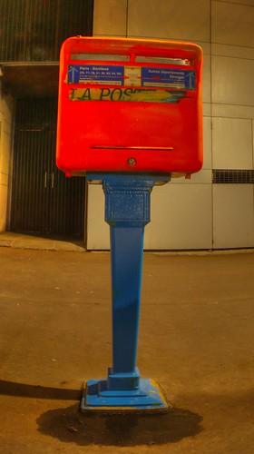 Peindre les bo tes aux lettres une bo te aux lettres de la flickr - Peindre boite aux lettres ...