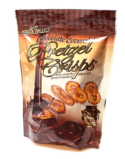 Chocolate Covered Pretzel Crisps | by cybele-