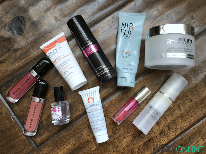 empties Marc Jacobs Nip + Fab IT Cosmetics