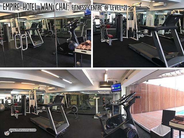 Empire Hotel Wan Chai fitness centre