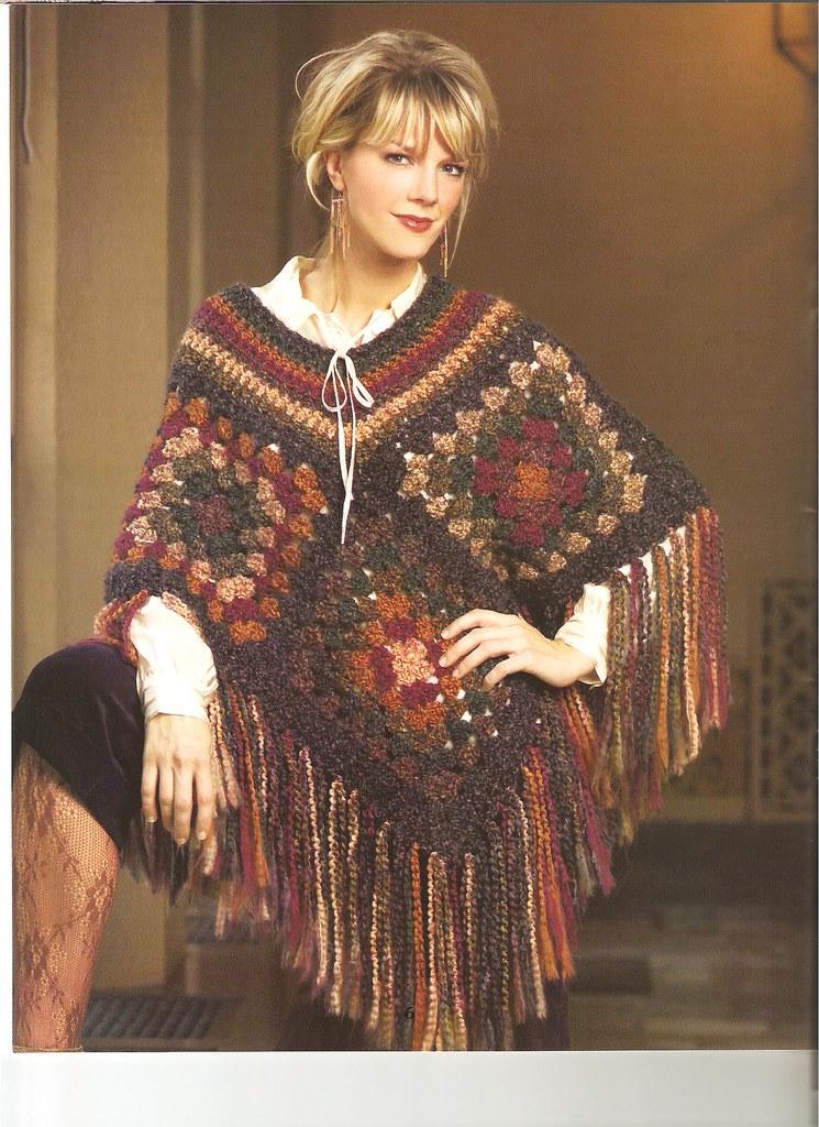 Leisure Arts Completely Cozy Wraps To Crochet Granny Squ Flickr