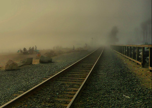 Foggy Railroad | by Mine Beyaz