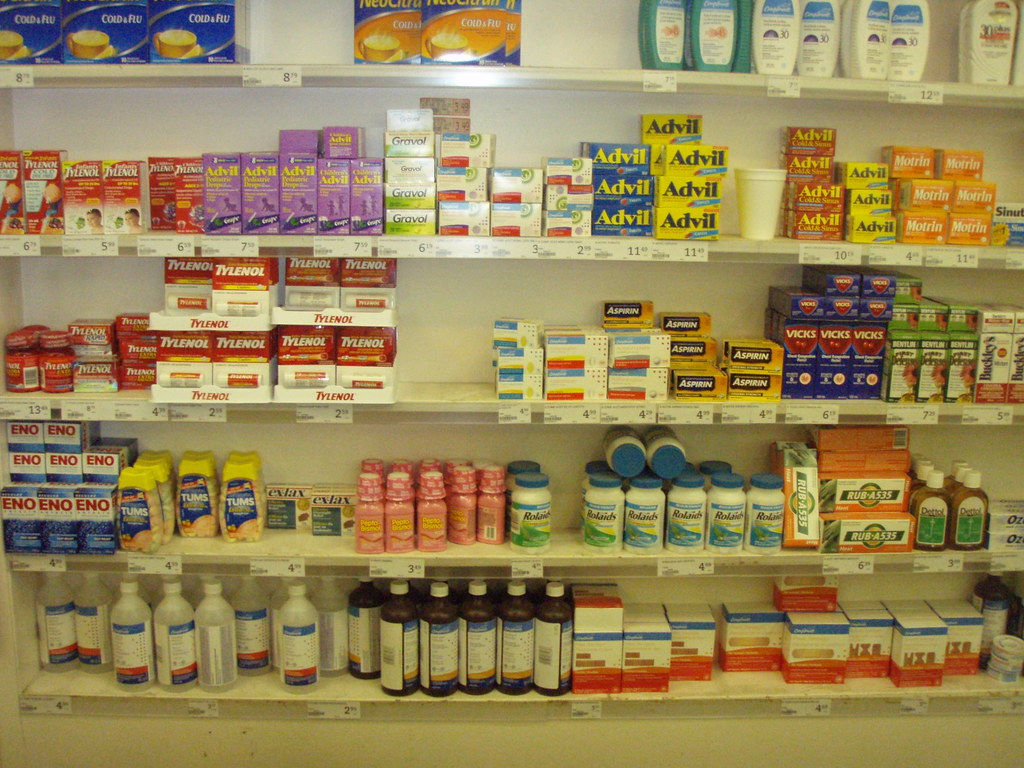 Drugs Begind The Cashier Iga Stony Plain Road Flickr