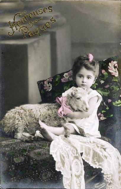 Little Girl Teddy Bear In Snow Black White Painting