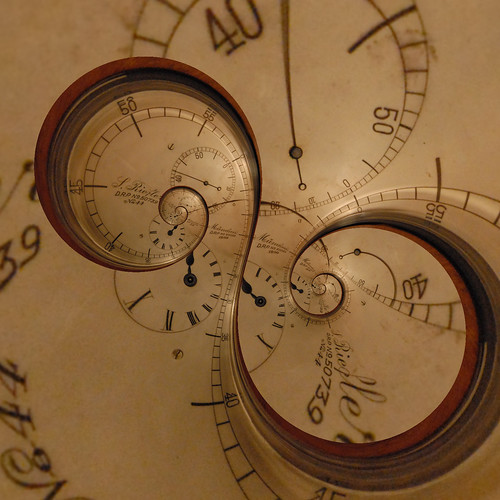 °° Riefler clock_mathmapped°° | by harald_kirr