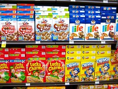 Cereal aisle at Ralph's | by Emily Bee ♥ Follow The White Rabbit