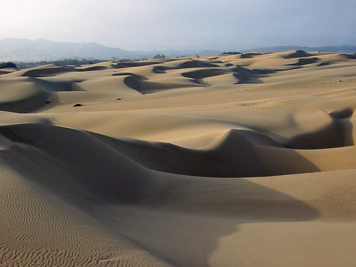 Sand dunes at Oceano, CA enhanced-oceano-dunes-5-31-02-baird | by mikebaird