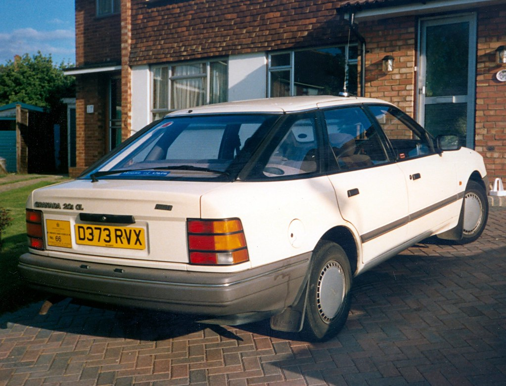 1986 Ford Granada 2 0i Gl This One Was On The Scene As A