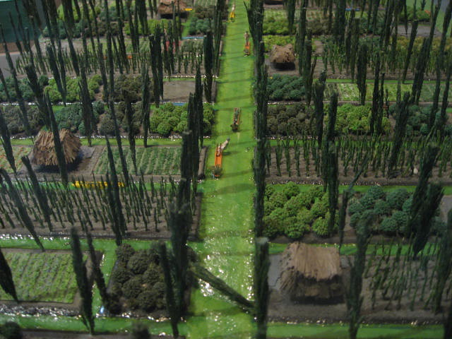 Chinampas model | The chinampas were extensive floating ...