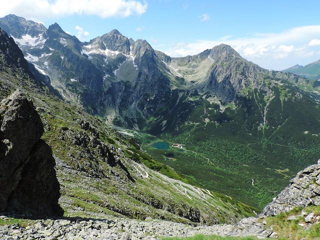 Alpine lakes: Zelené pleso, High Tatras, Slovakia